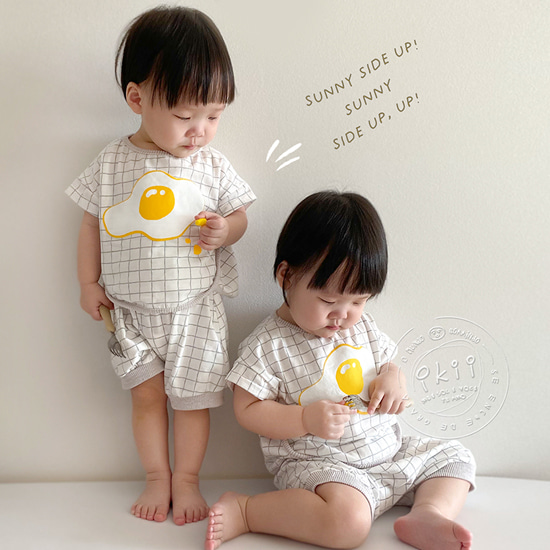 Sunny Egg Top+Bottom SET